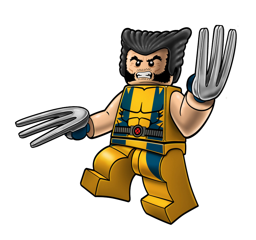 Deadpool clipart spiderman lego. Wolverine animal at getdrawings