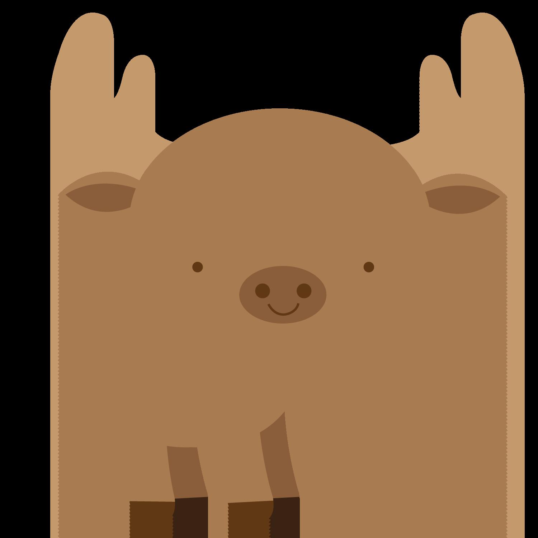 Deer clip art woodland. Moose clipart elk