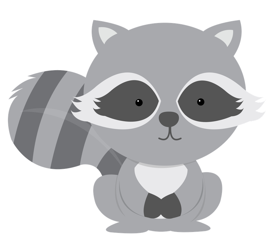 Woodland clipart transparent.  collection of raccoon