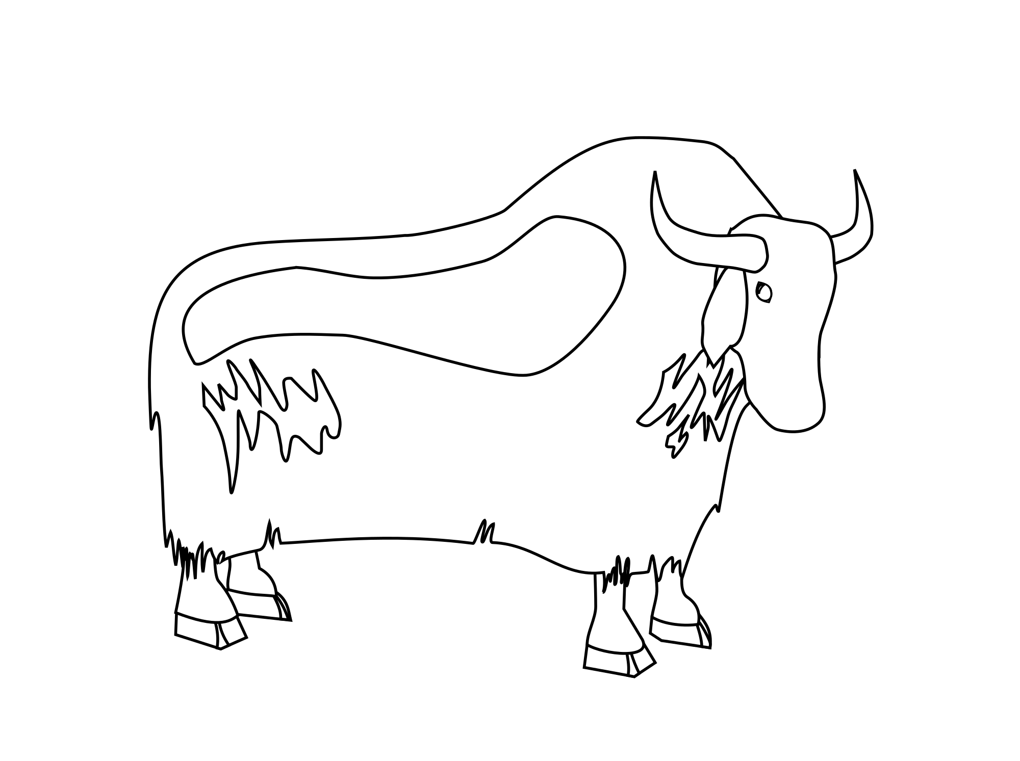 File svg wikimedia commons. Yak clipart vector