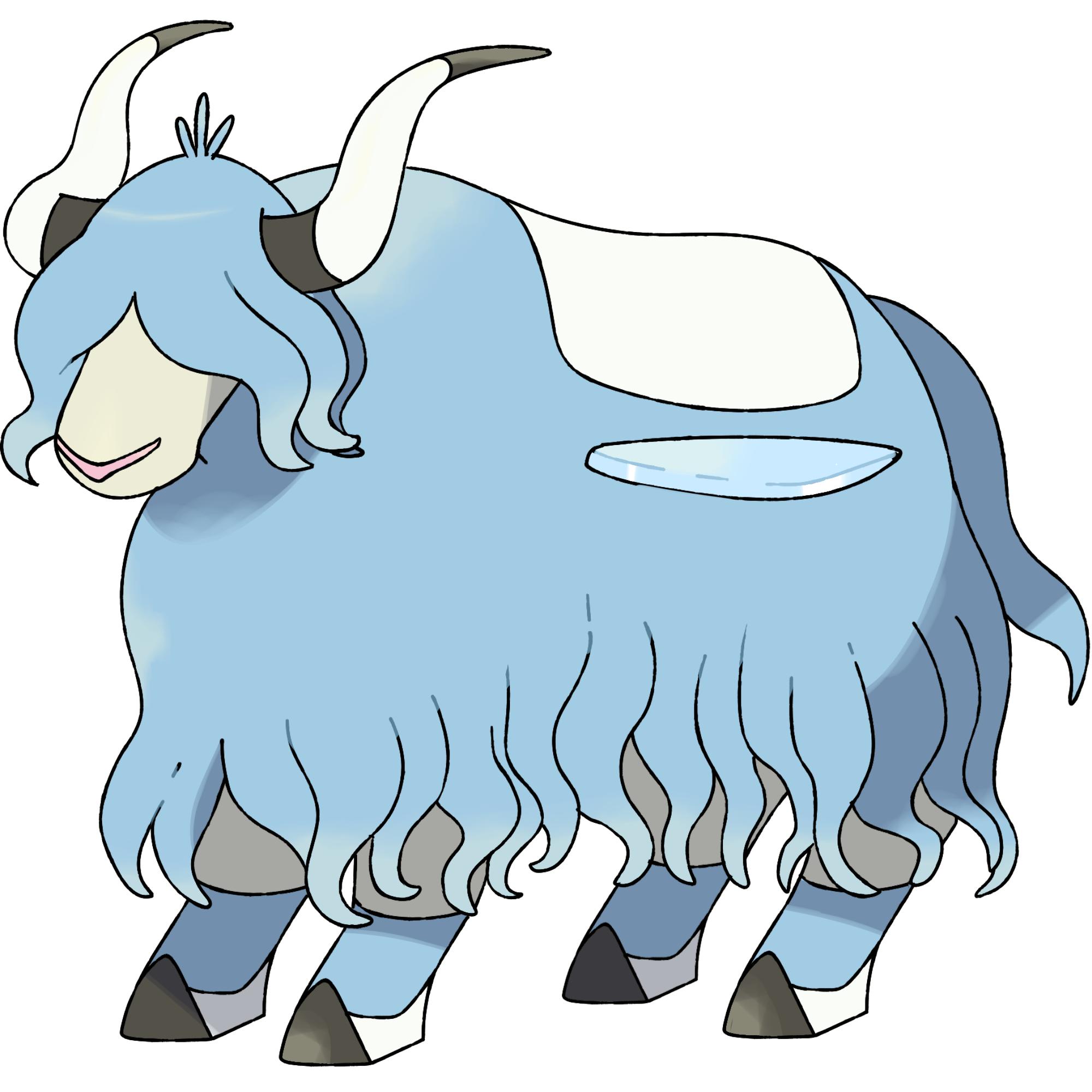 Yak clipart horns. Image yaking png darkandwindie