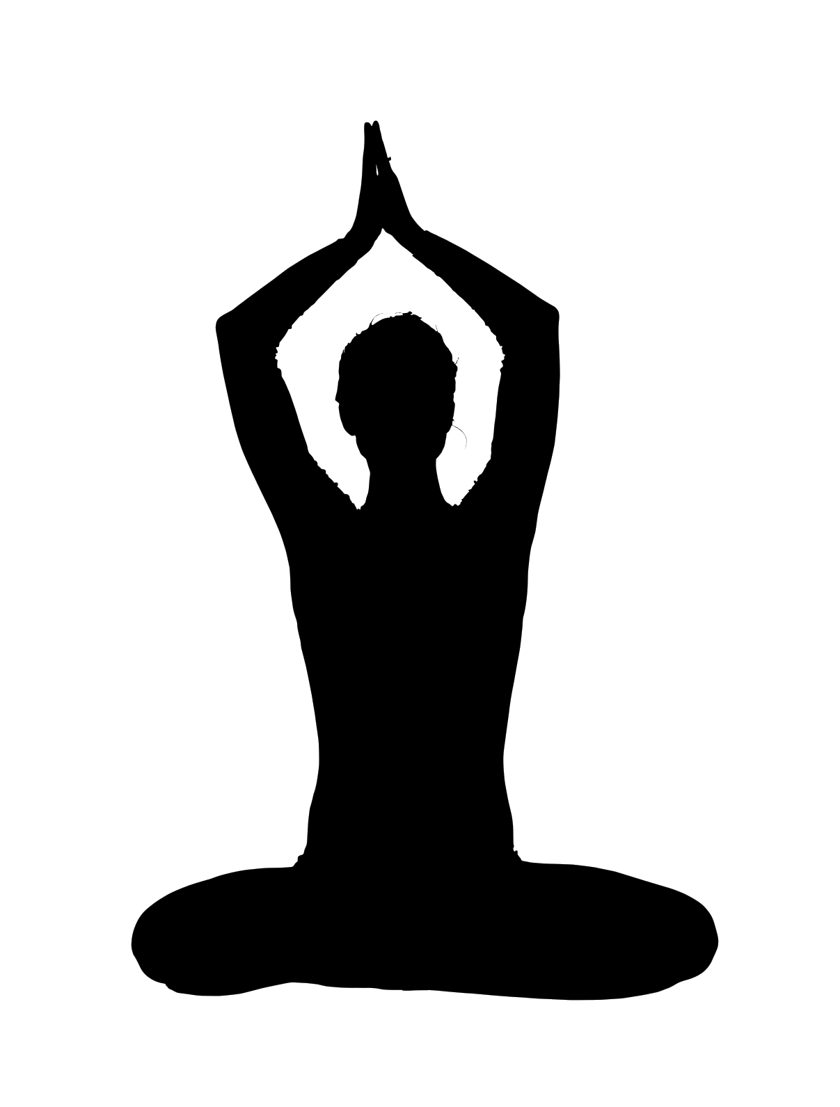 hand clipart yoga