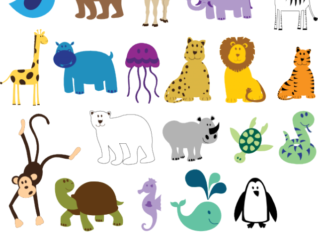 Free animals download clip. Picture clipart zoo