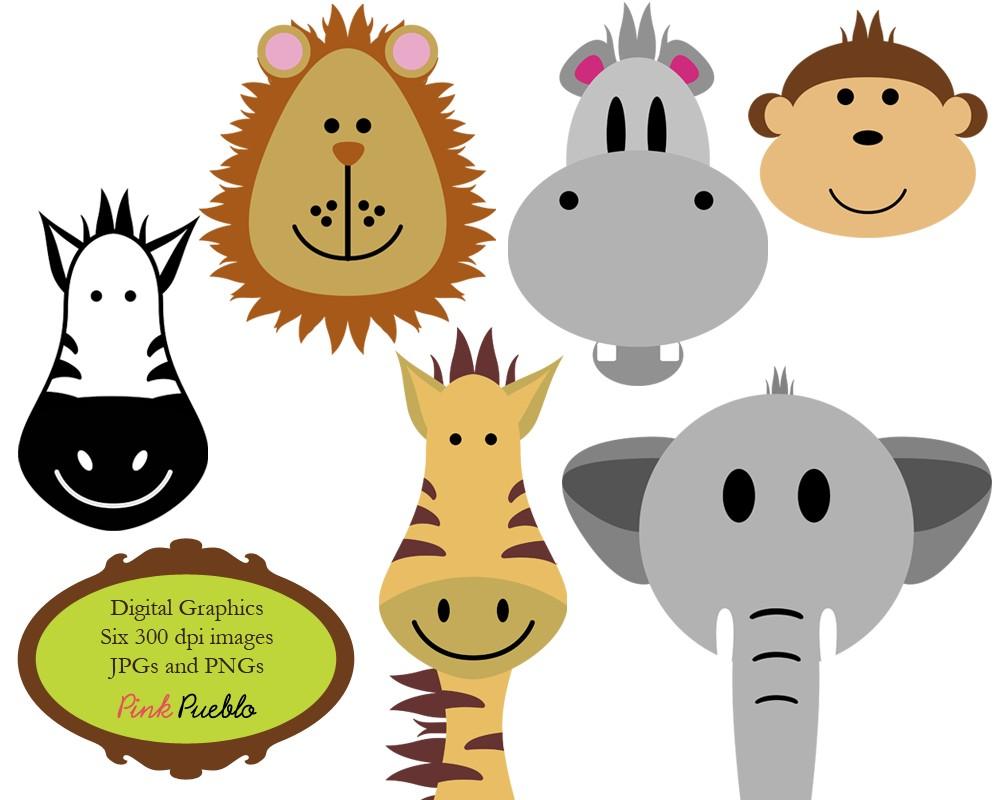 Clipart zebra safari themed. Free zoo animal download