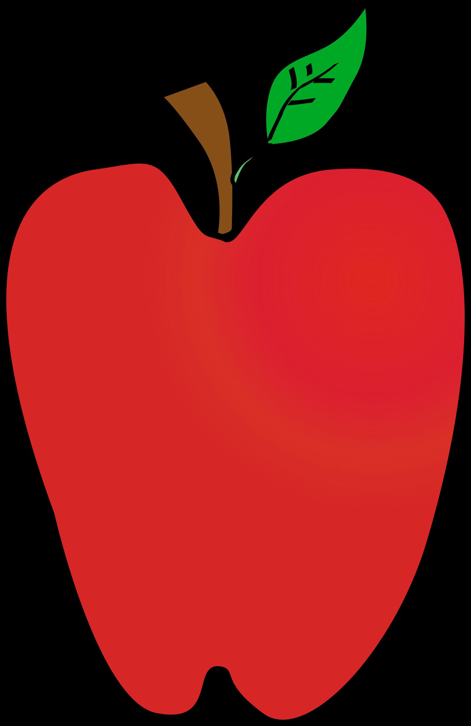 Clipart apple animated. Cartoon k yager r