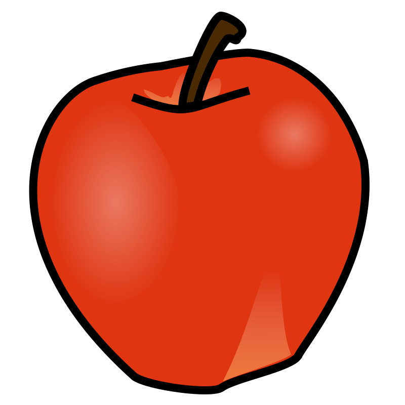 Free at getdrawings com. Clipart apple birthday