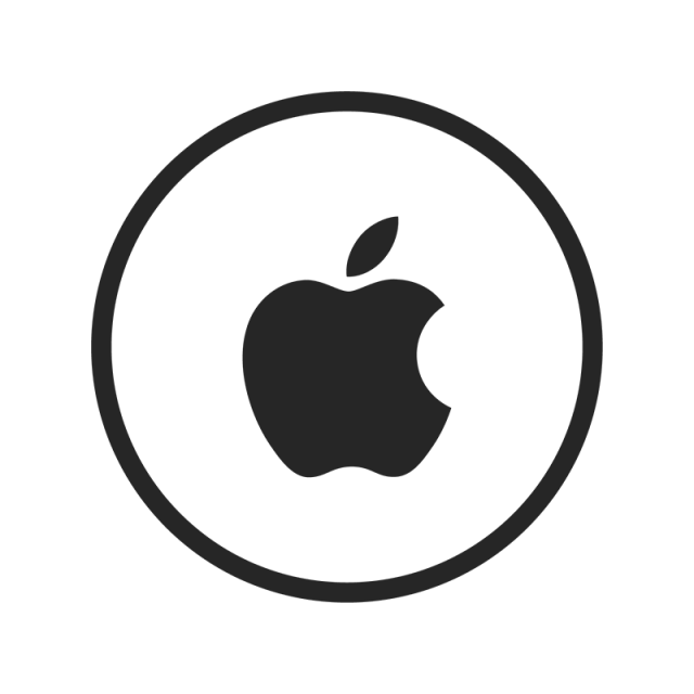 Apple icon png. Black white and vector