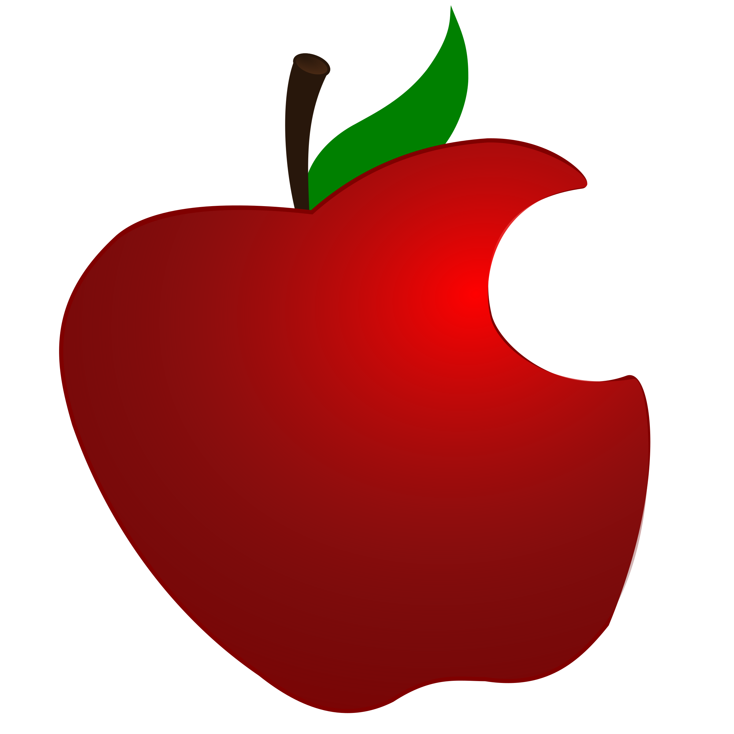 Pear clipart bitten.  collection of apple