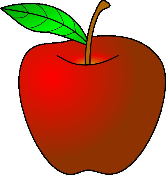 Apple cartoon desktop backgrounds. Clipart fruit animation