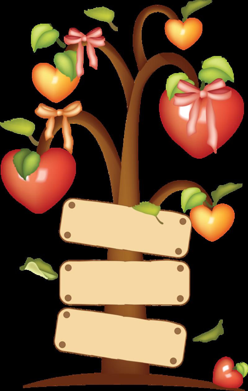 clipart hearts food