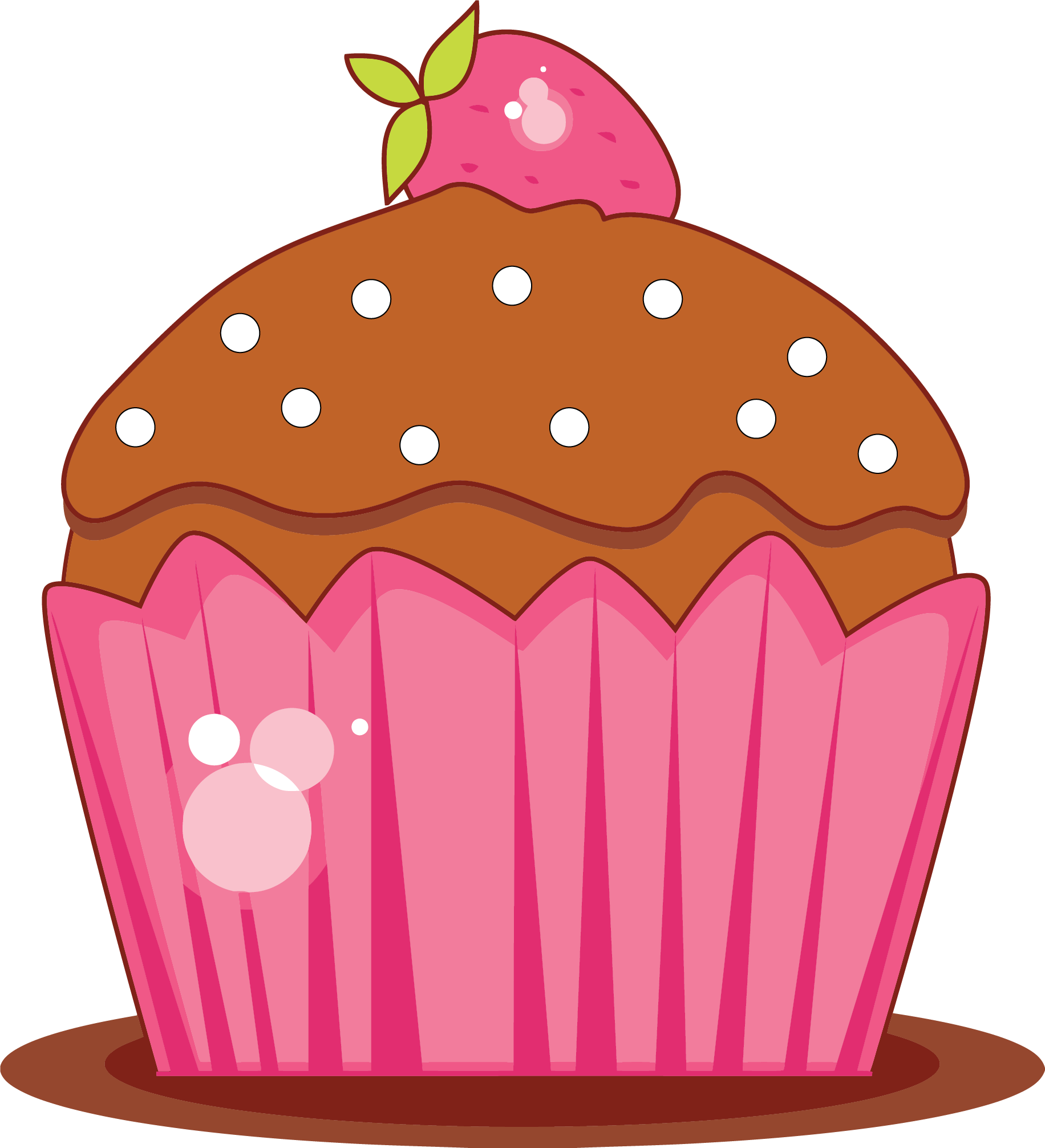 July clipart gold cupcake. Sweet png clipartly comclipartly