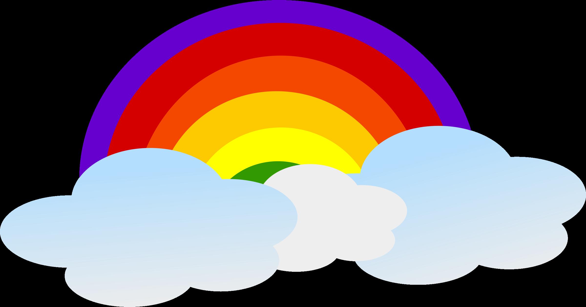 transparent decoration png. Clipart rainbow weather