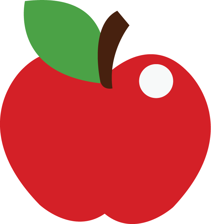 Manzana escolares pinterest snow. Strawberries clipart buah