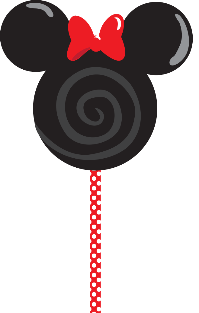 Lollipop clipart head mickey. Minnielollypop png disney svg