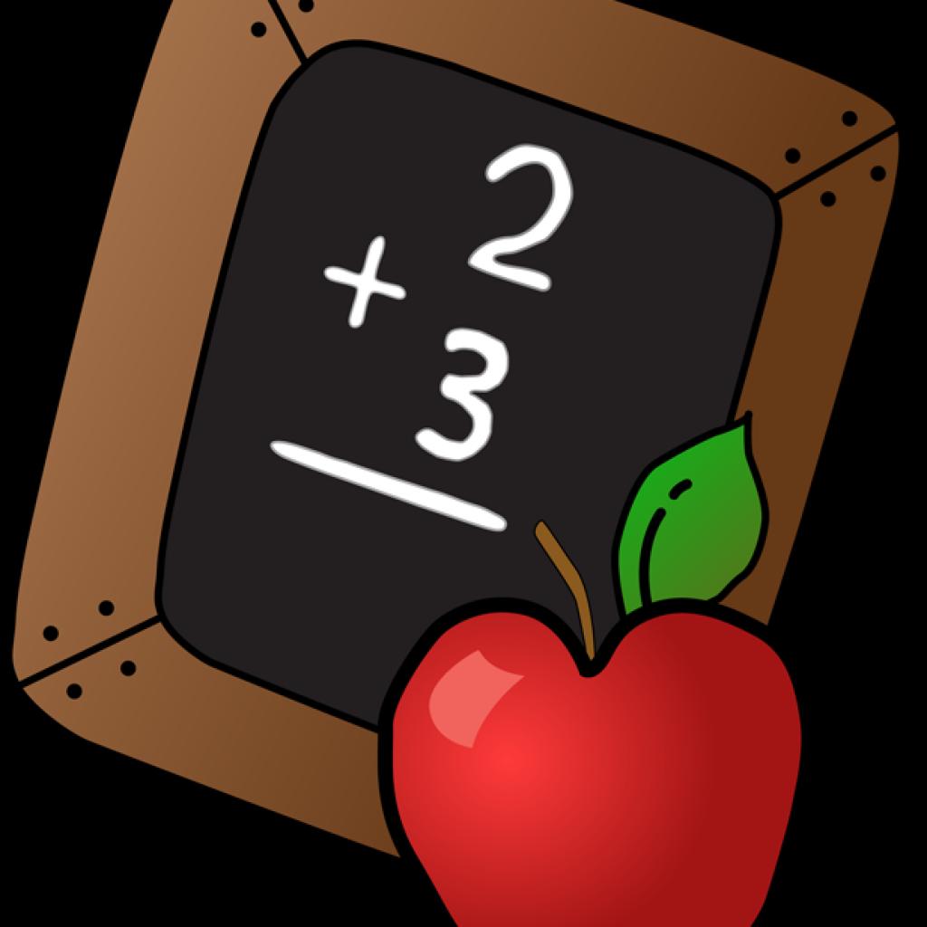 First week of school. Clipart apple education