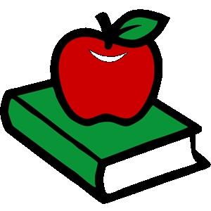 Clipart apple education. School clip art panda
