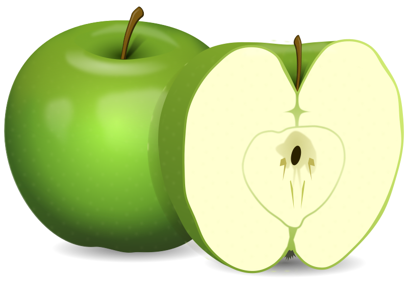 Apples medium image png. Fraction clipart food