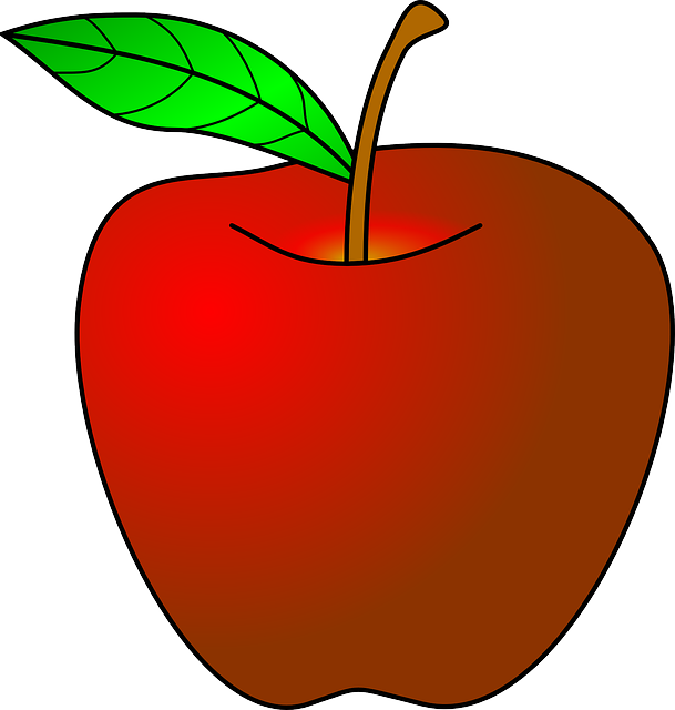 News clipart teacher. Apple borders for teachers
