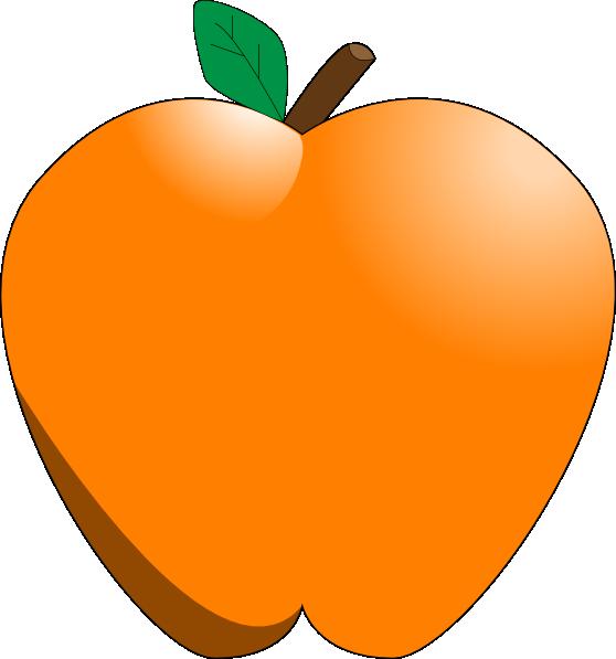 Milk clipart apple. Orange clip art at