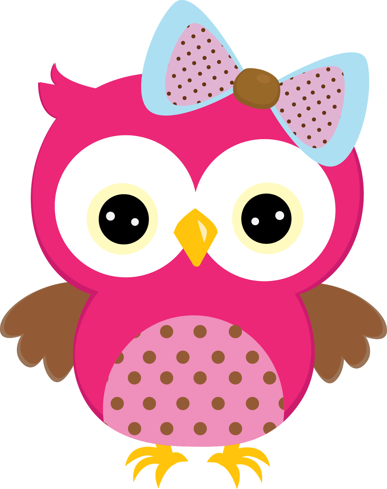 Winter clipart owl. De b hos colores