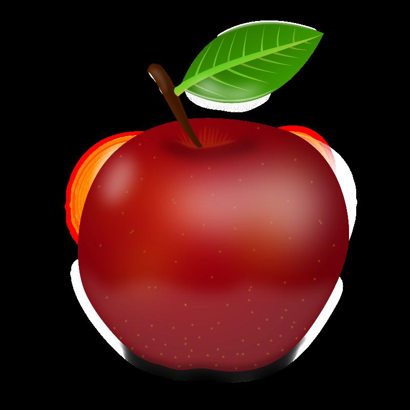 Cute clip art panda. Logo clipart apple