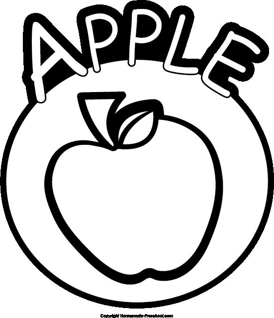 Free apple click to. Clipart apples preschool