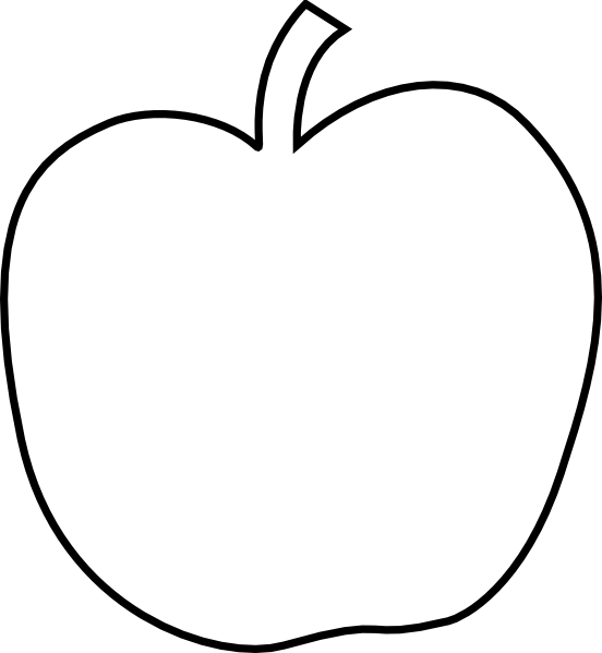 Pumpkin clipart apple. Large template sewing i