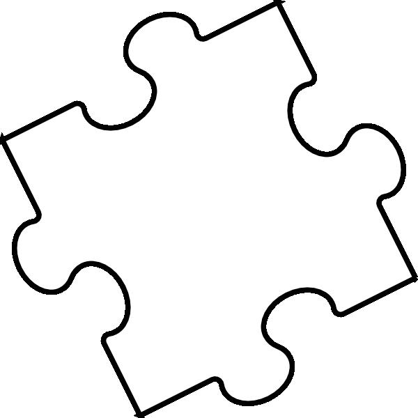 Black white piece clip. Puzzle clipart math puzzle