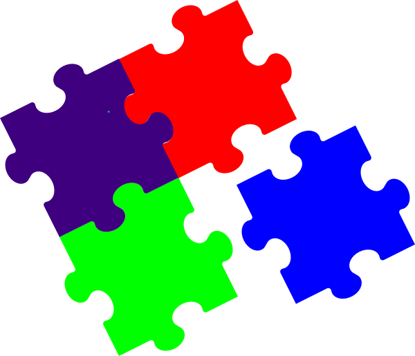 Jigsaw puzzles clip art. Puzzle clipart light bulb