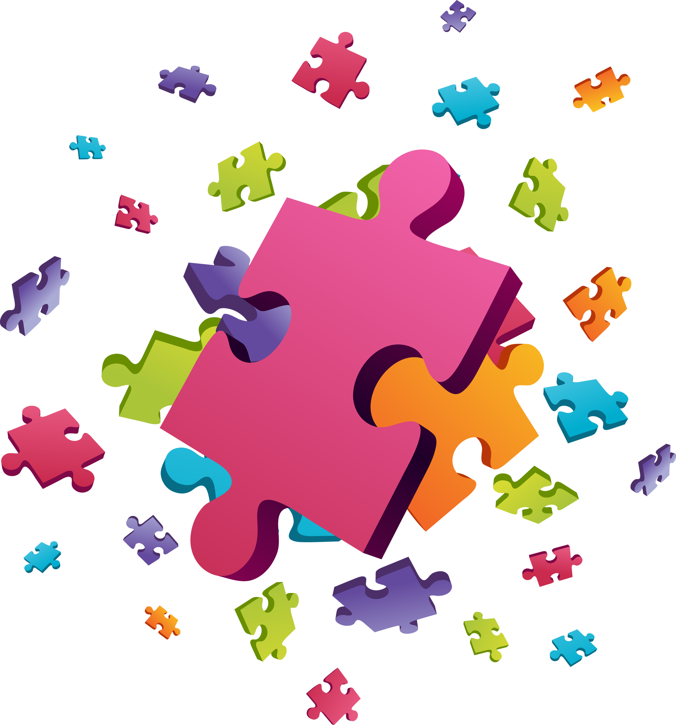df f b. Puzzle clipart yellow