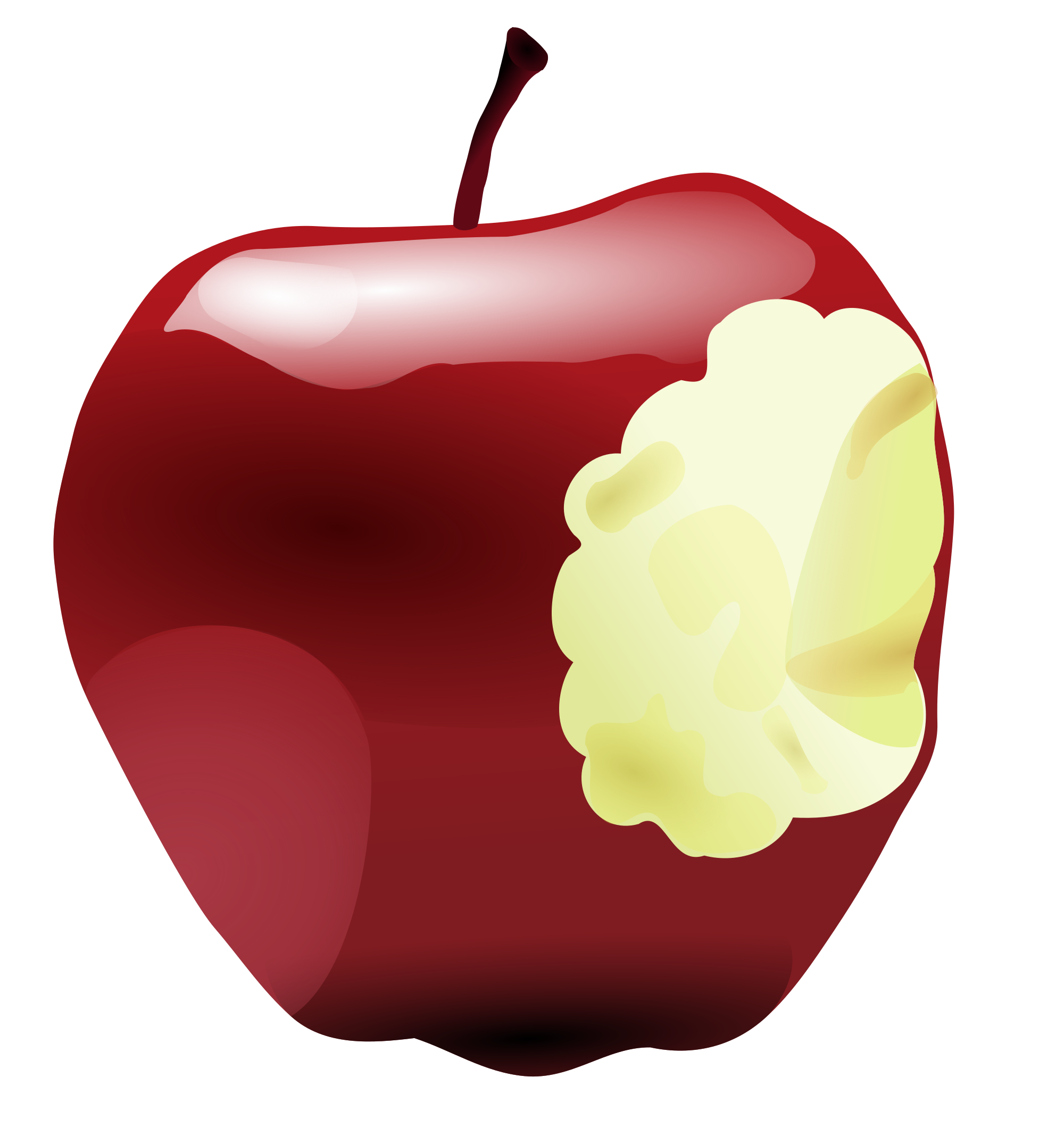 Clipart rose apple tree. File bitten svg wikimedia