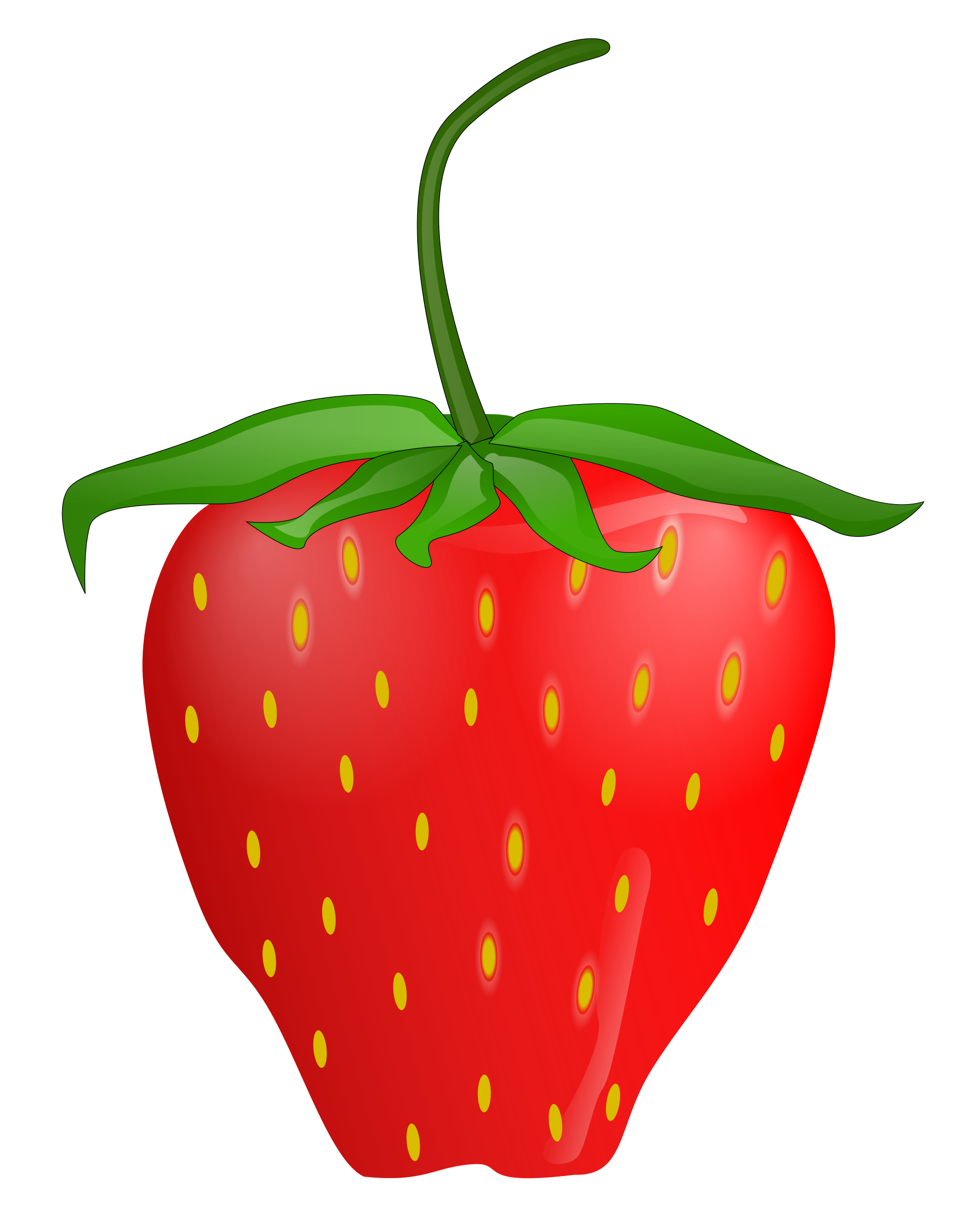 Strawberry clip art free. Strawberries clipart face