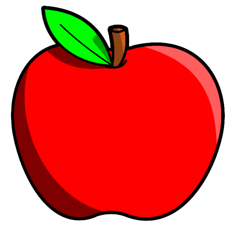 clipart fruit cartoon