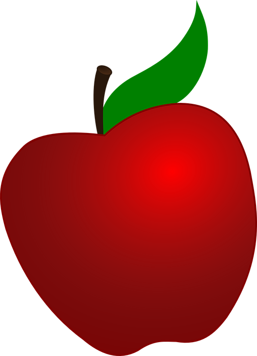Placing an image inside. Clipart apple transparent background