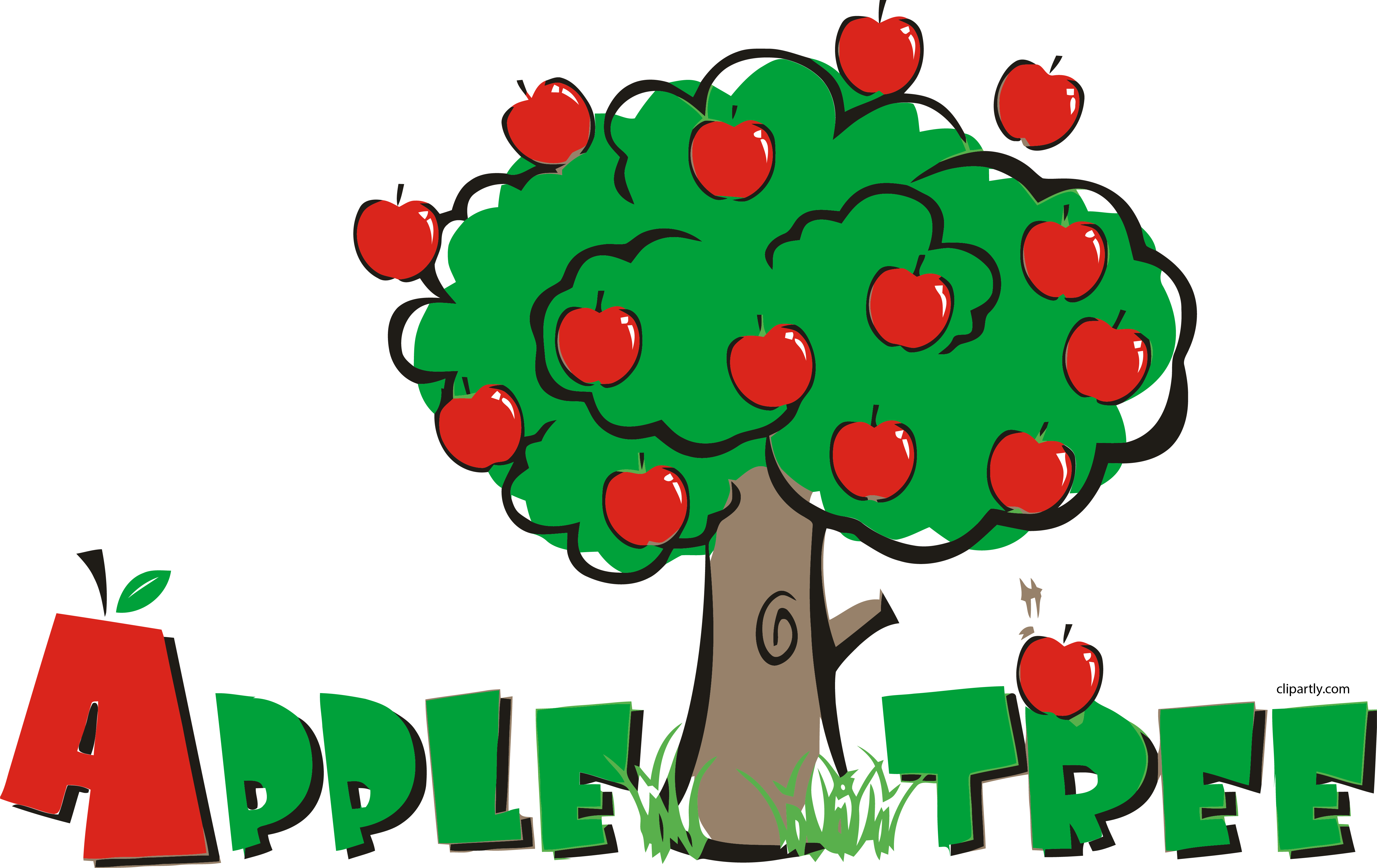 Pre school png clipartly. Clipart roses apple tree