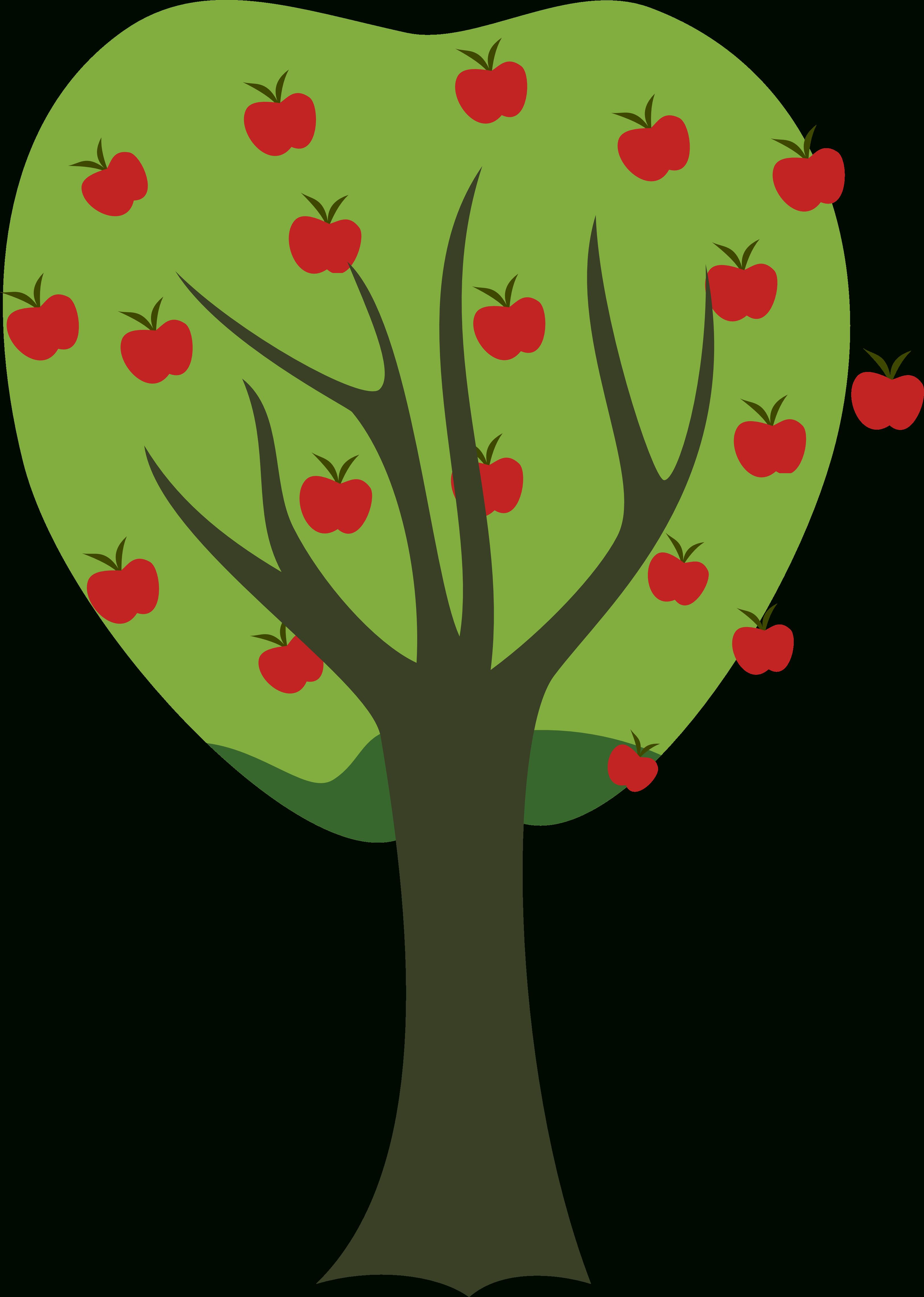 Apple transparent letters format. Tree clipart fruit