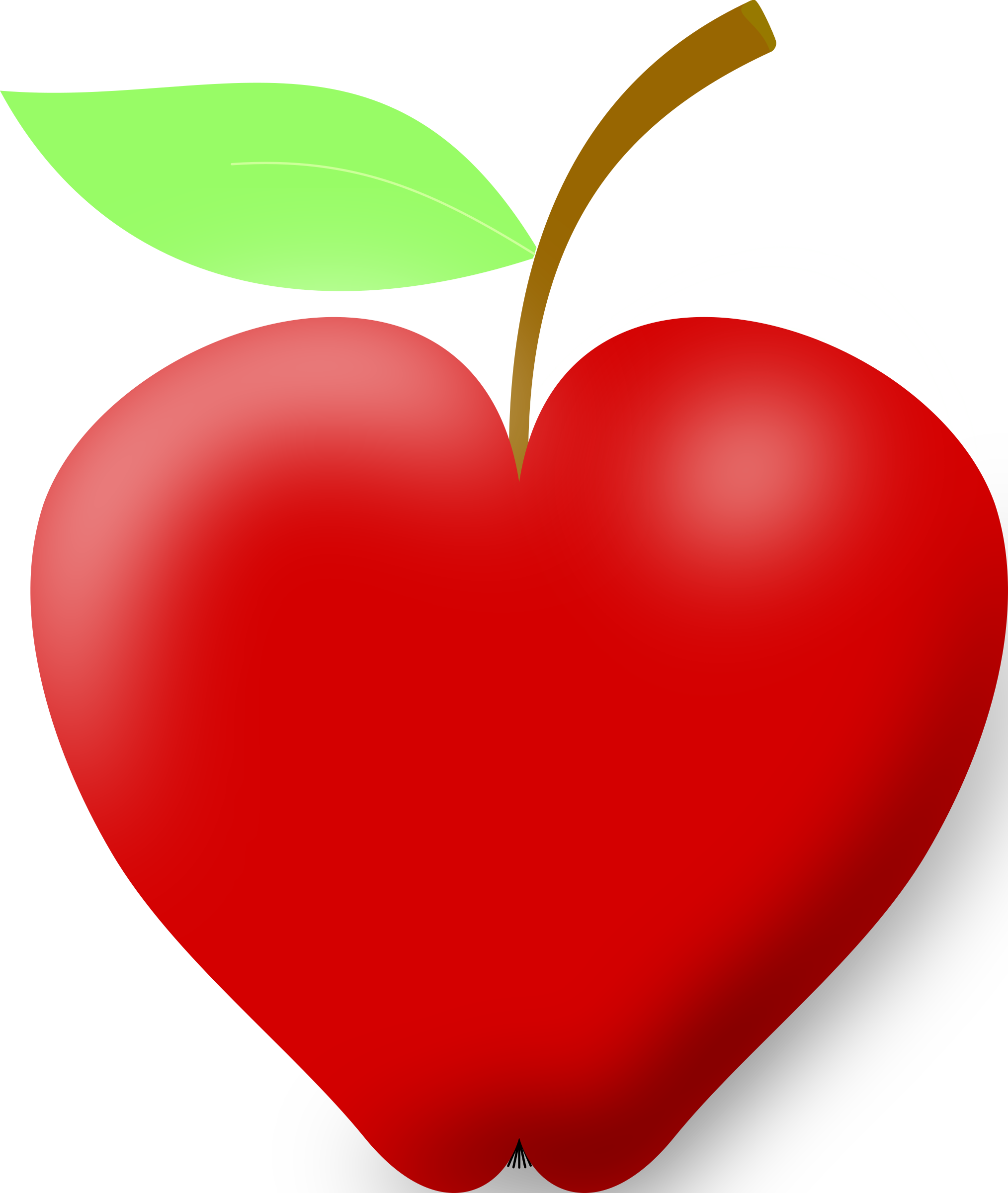 Best hd apple clip. Heart clipart vegetable