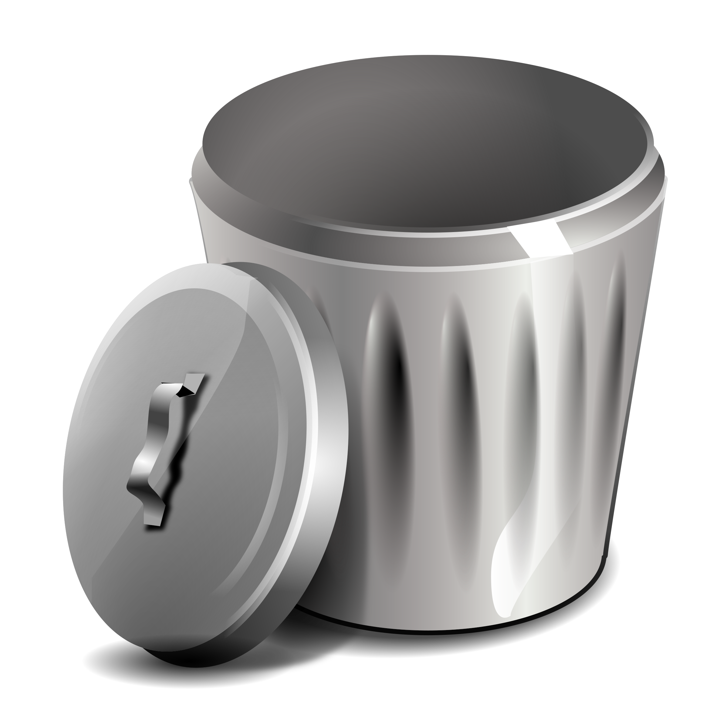 Trash can png images. Lunchbox clipart bin