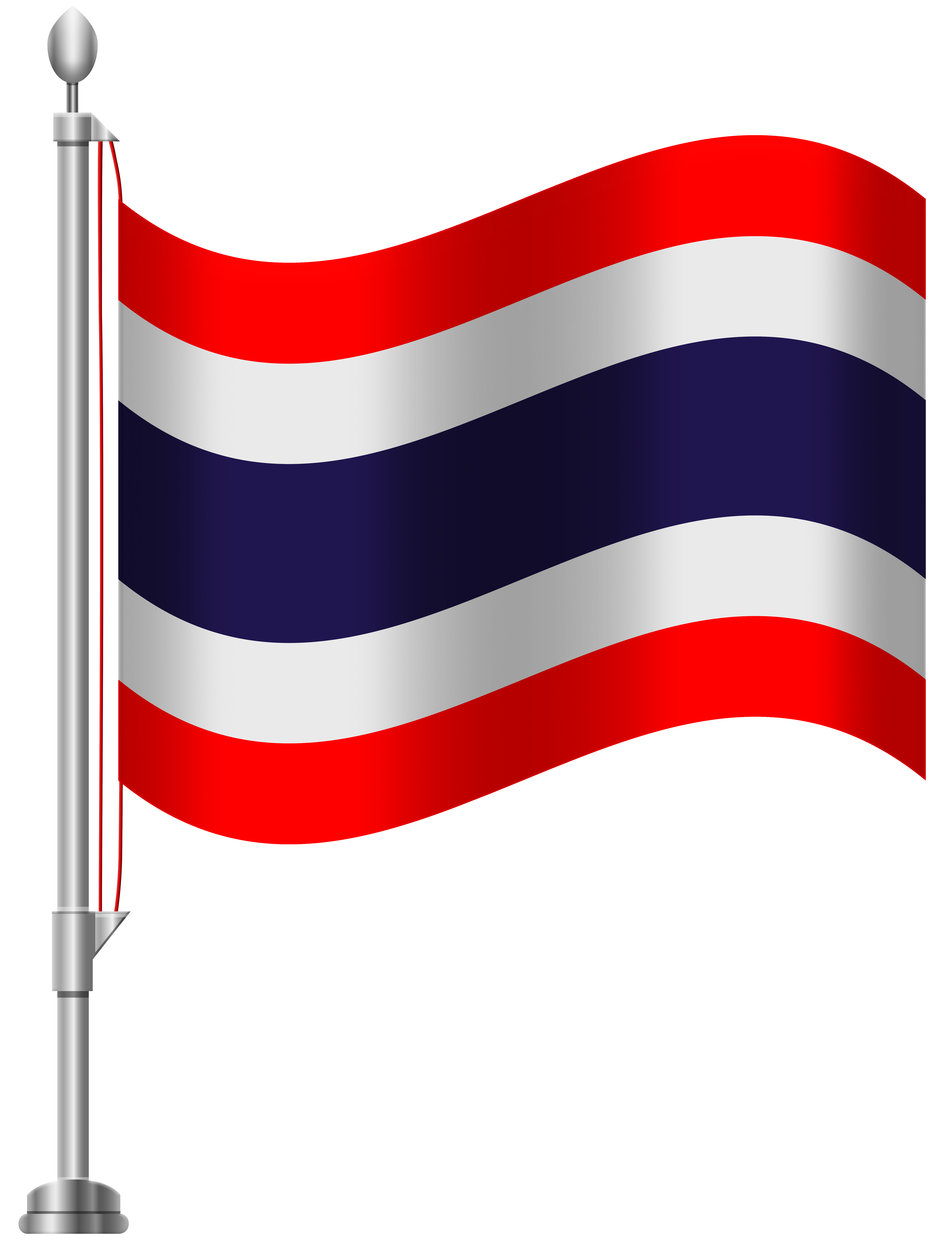 Thailand Flag PNG Clip Art