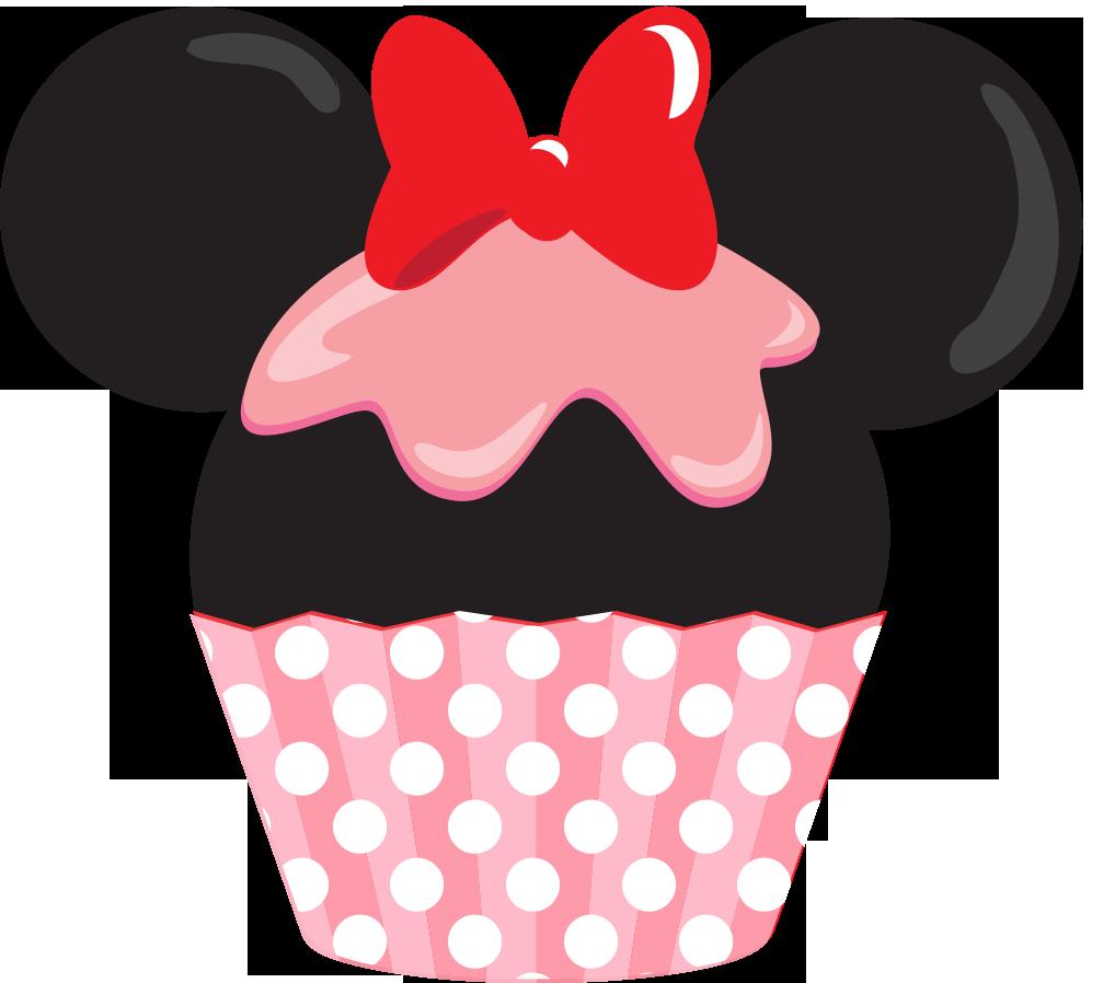 Cupcake clipart daisy duck. Minniecupcake png minnie mouse