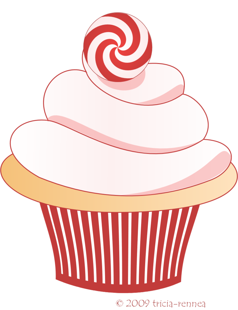 Cupcakes png deviantart pesquisa. Winter clipart cake