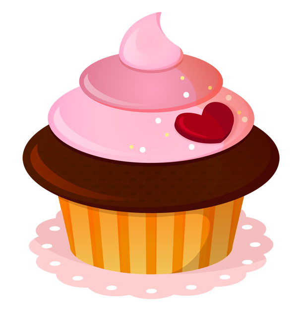 cupcake delicadezas pinterest. Clipart cake valentines