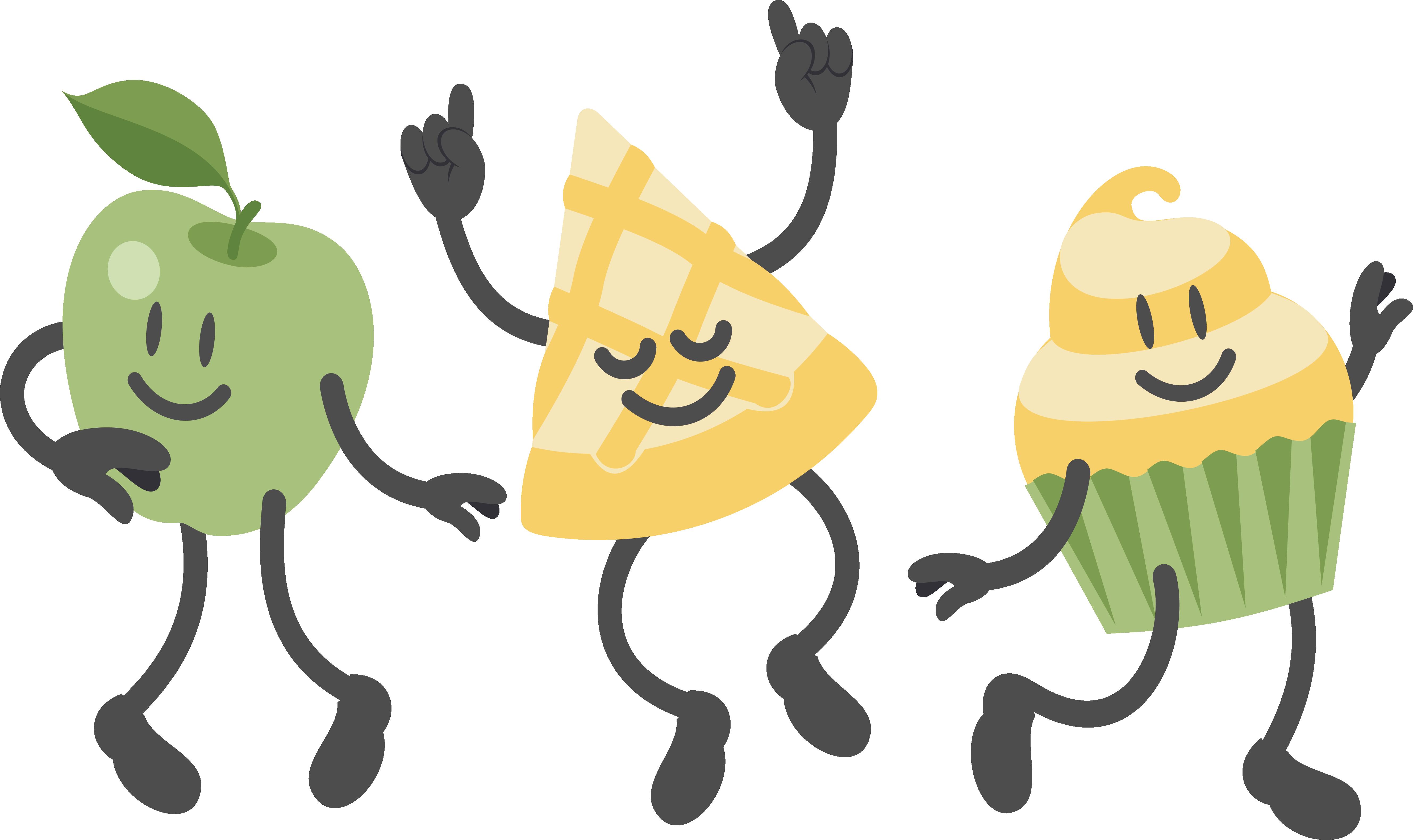 Dance party apple clip. Mango clipart dancing