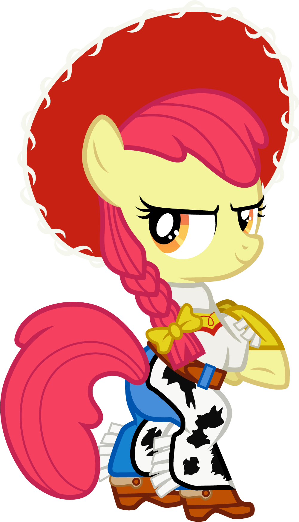 apple bloom artist. Costume clipart story character