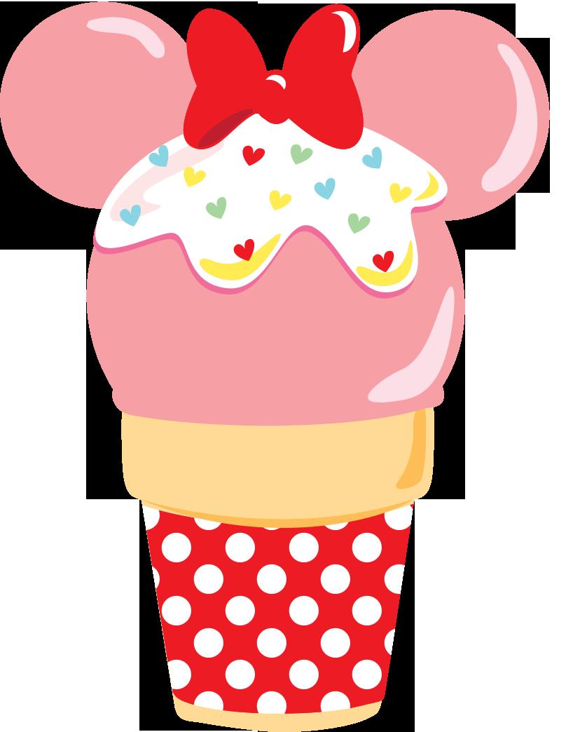 Minniecupcake png minnie mouse. Dessert clipart wallpaper