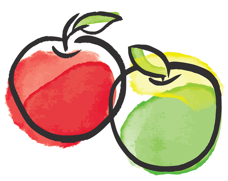 Interesting apple facts and. Pear clipart illustrated