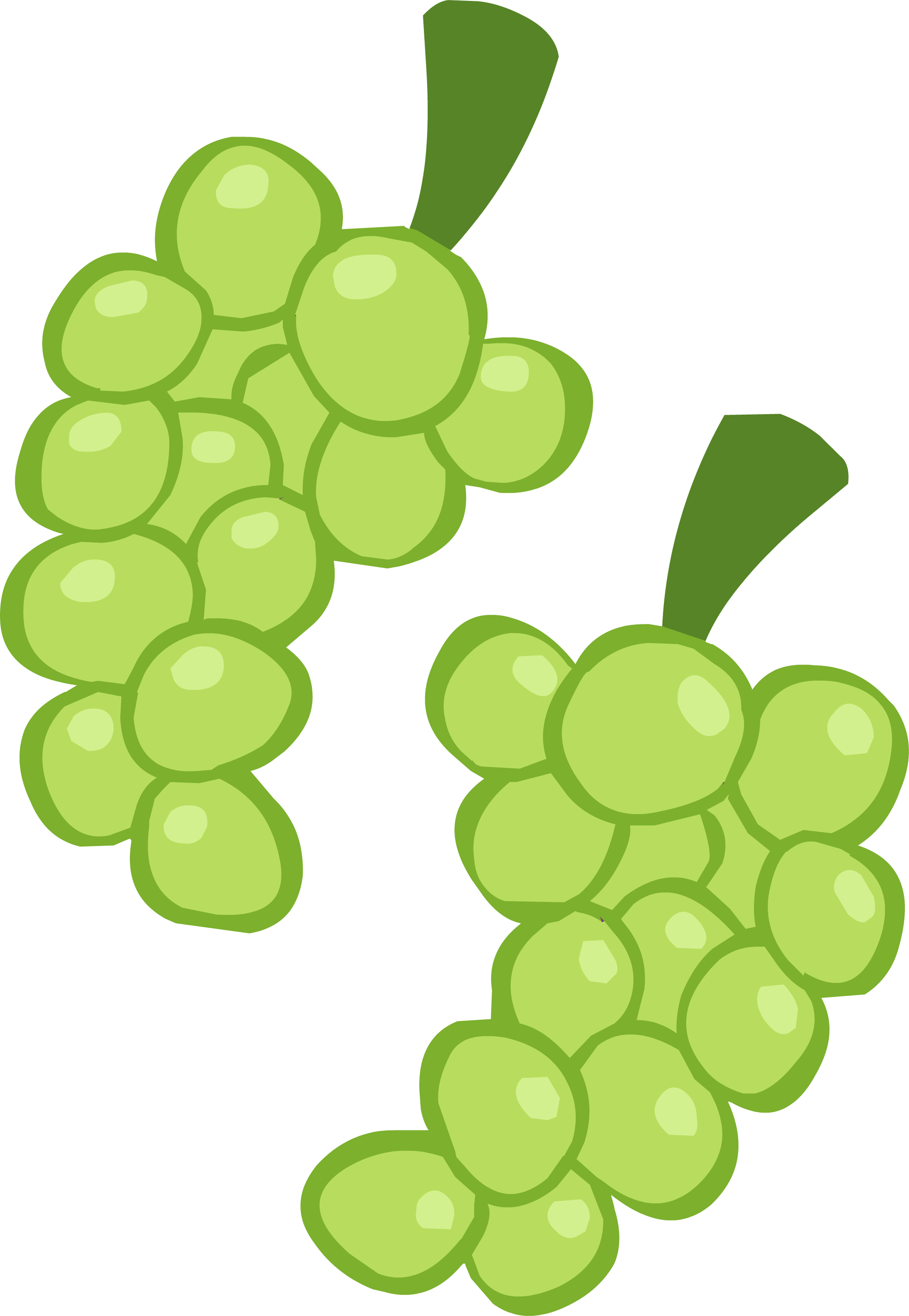 Grapes clipart leaves. Image ponymaker png my