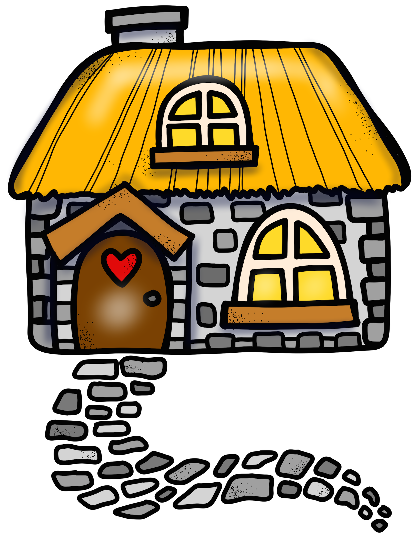 Fairy garden house png. Planet clipart melonheadz