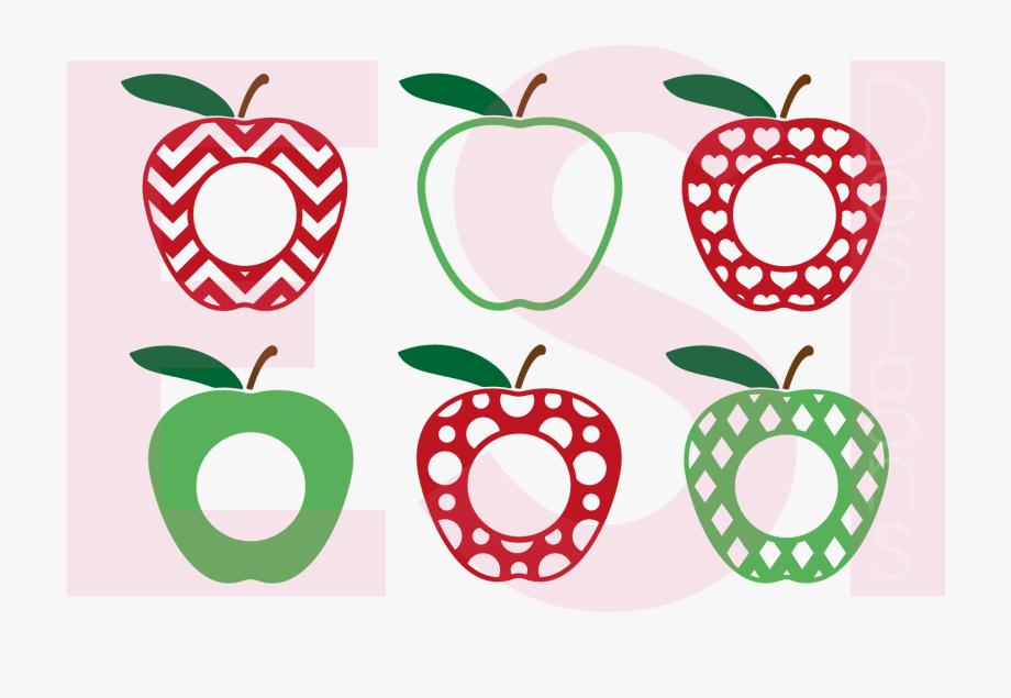 Clipart Apples Monogram Clipart Apples Monogram Transparent Free For Download On Webstockreview 2020