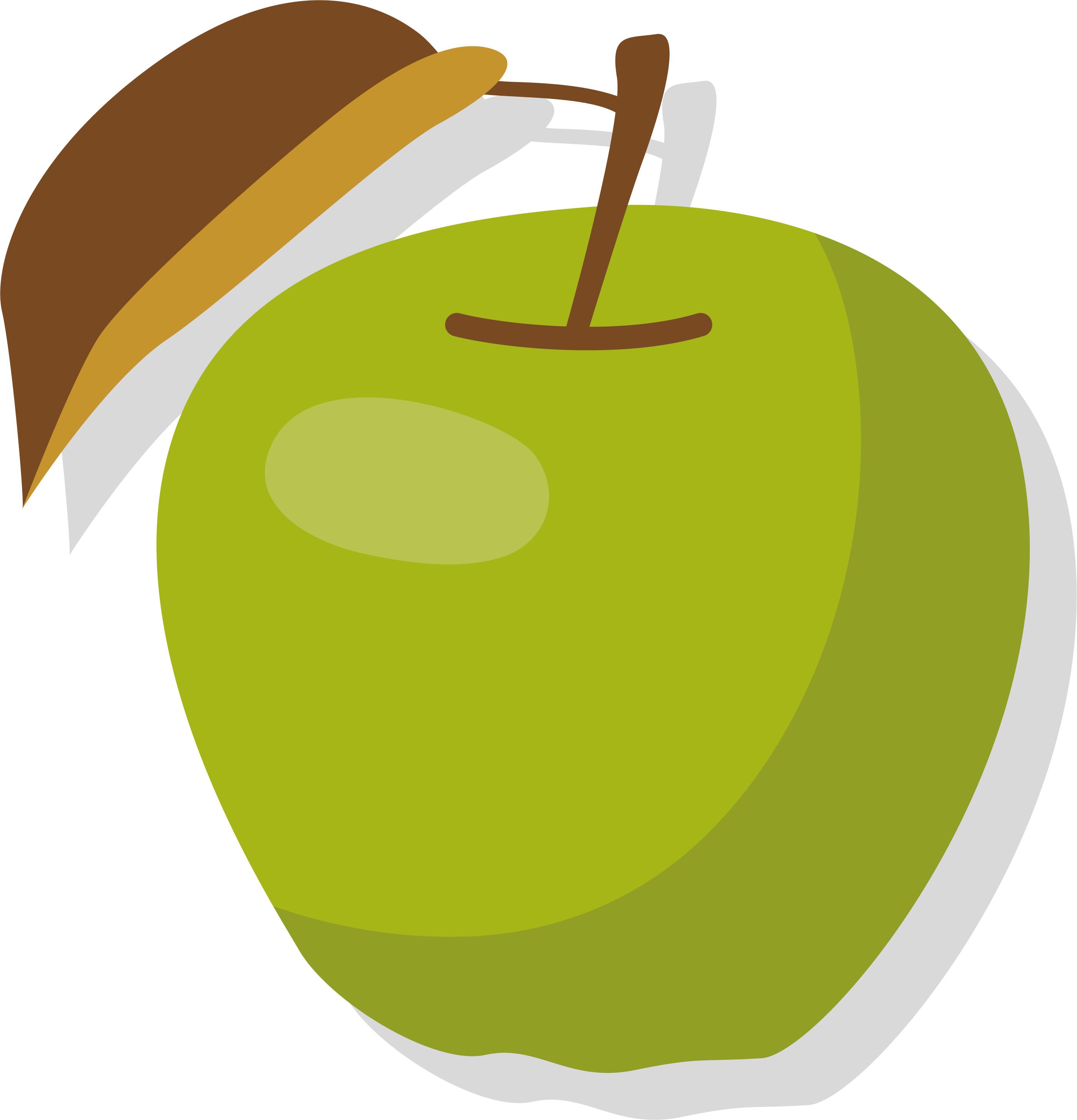 Apple manzana verde clip. Peaches clipart ripe fruit